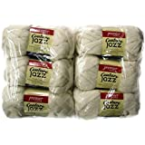 Couture Jazz Yarn, 6-Pack (Milk)