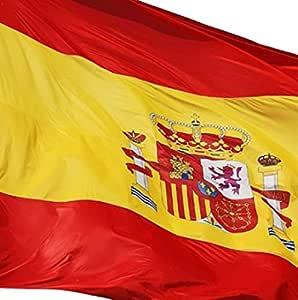 EUROXANTY® Bandera España | Pack de 2 Banderas | 90x150cm | Bandera Resistente (2 Banderas ESPAÑA): Amazon.es: Jardín