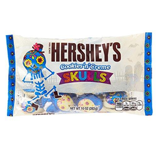 Hersheys Cookies n Cream SKULLS