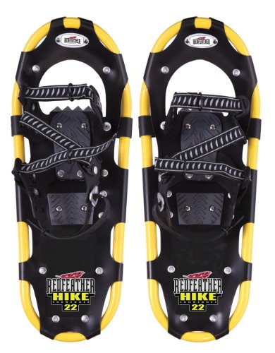Redfeather Ladies Hike Control Bindings Snowshoe (Yellow, 22)