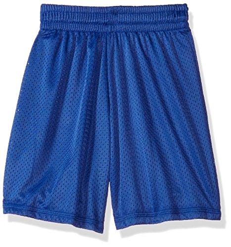 - Intensity Youth Nylon Eyelet Mesh Shorts, Royal, Large