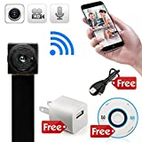 Product review for minicute Mini Hidden spy camera HD  P2P Wireless WiFi IP Digital Video Recorder for IOS Android Phone APP Motion Detecting  with Charger and Disc and Updated Instruction Included