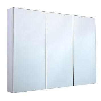 Blitzzauber24 Armoire de Toilette/Salle de Bain à Miroir Murale 3 ...