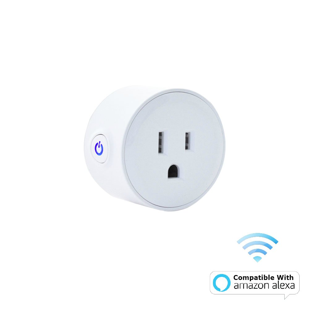 Digital Gadgets Compact Wi-Fi Enabled Smart Plug Control From Smartphone Anywhere Works With Alexa