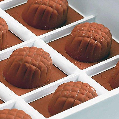 Matfer Bourgeat Silicone Candy / Chocolate Mold, Pineapple Shape 339014 by Matfer Bourgeat