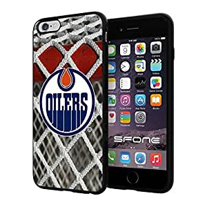 """Edmonton Oilers Goal Net #1887 iPhone 6 Plus (5.5"""") I6+ Case Protection Scratch Proof Soft Case Cover Protector by mcsharks"""