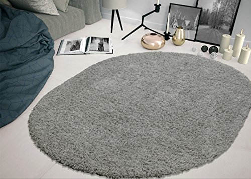 - Sweet Home Stores COZY2763-OVAL Shaggy Rug, 5'3