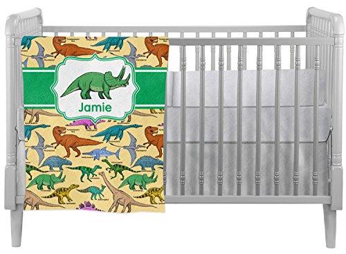Mom Innovations Dinosaurs Crib Comforter / Quilt (Persona...