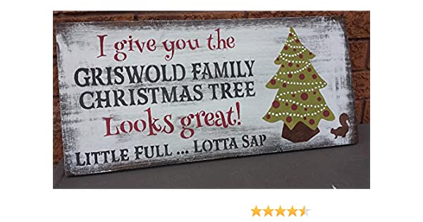 Griswold Family Christmas.Olga212patrick Griswold Family Christmas Tree Sign National Lampoon Christmas Vacation Sign Humorous Gag Gift Movie Lover Hostess Housewarming