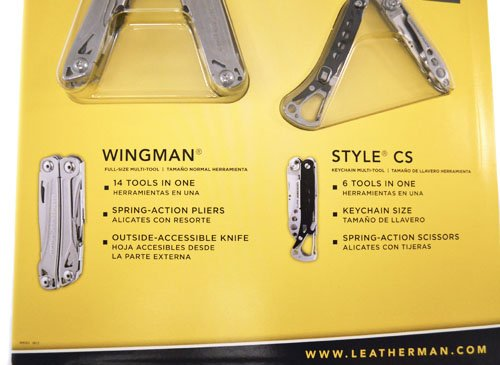 Amazon.com: Leatherman Wingman & Style CS multi-tools: Home ...