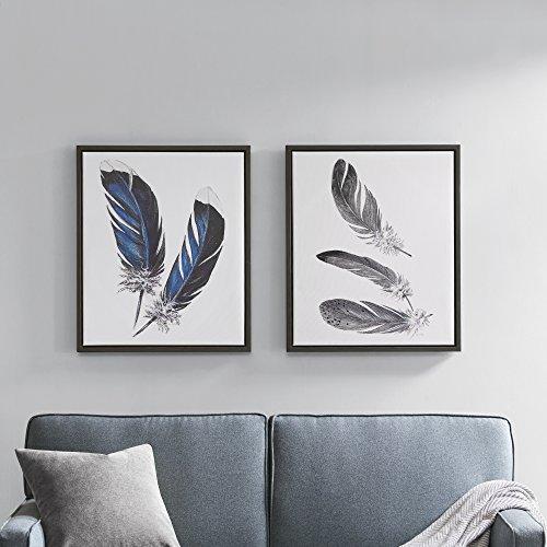 Set Painting Print Art (Décor 5 - Printed Canvas Set With Frame- 2 Pieces, 20'' x 24