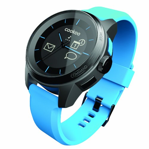 COOKOO Smart Bluetooth Connected Watch, Blue by COOKOO