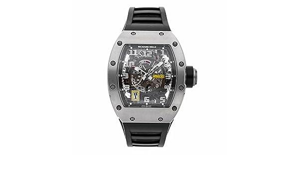 Richard Mille RM 030 RM030 - Reloj automático, diseño de autobús: Richard Mille: Amazon.es: Relojes