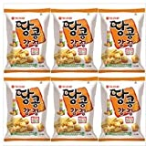Orion Rice with Peanut Snack 80g (Pack of 6) Korean Food Children Nutritious Snacks Gift Promotion