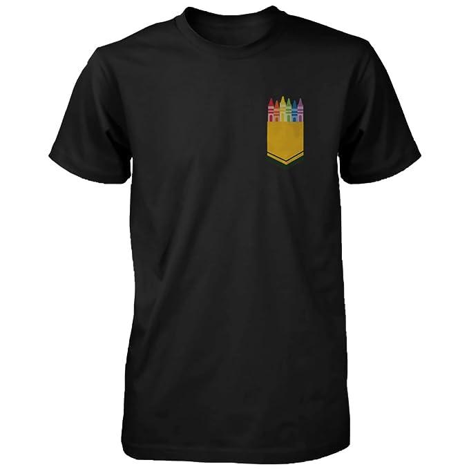 Amazon.com: 365 de impresión color Crayon bolsillo camisa ...