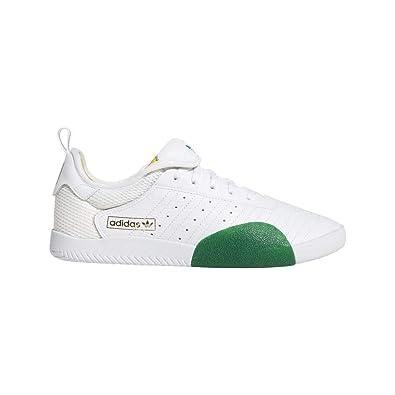 timeless design c9bc0 027e7 ADIDAS Skateboarding 3ST.003, Footwear White-Bold Green-Bold Gold, 8