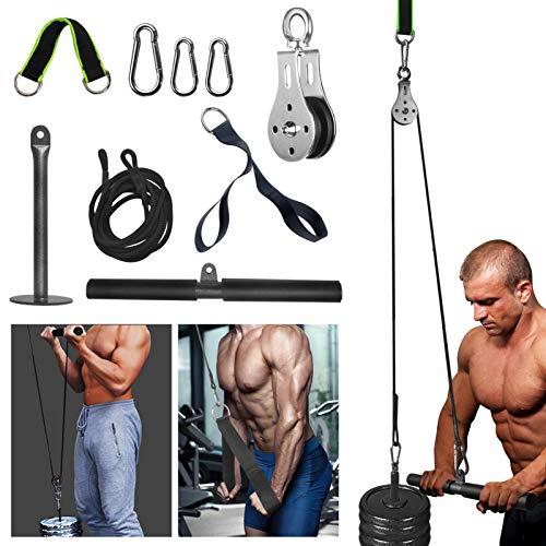 Gym katrol en kabel voor thuis gewicht training, machine van LAT pulldown voor gewichtsverlies en lichaamsvormgeving…