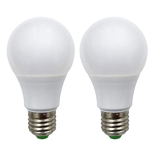 Bombilla LED E27 12 V AC/DC 5 W (A60 50 W bombillas halógenas) bajo voltaje ...