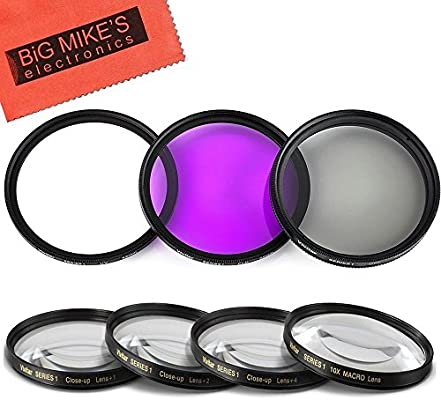 67mm High Resolution Clear Digital UV Filter with Multi-Resistant Coating for Panasonic Lumix DMC-GH1 Microfiber Cleaning Cloth
