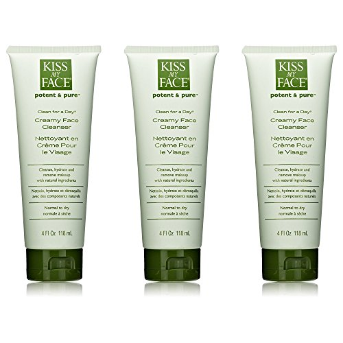 Kiss My Face Creamy Face Cleanser - 1