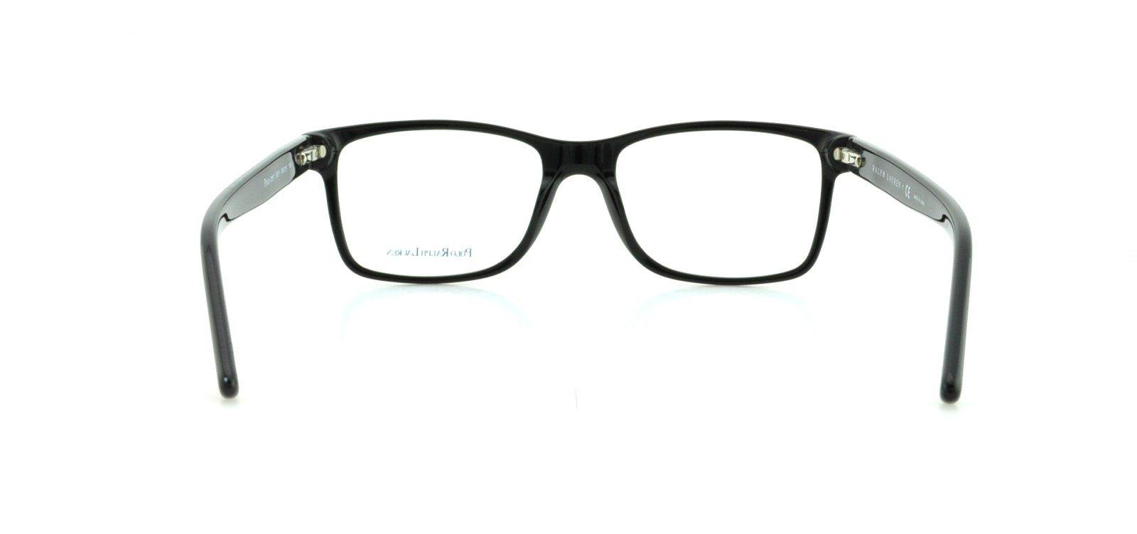 Polo PH2057 Eyeglasses-5001 Shiny Black-55mm