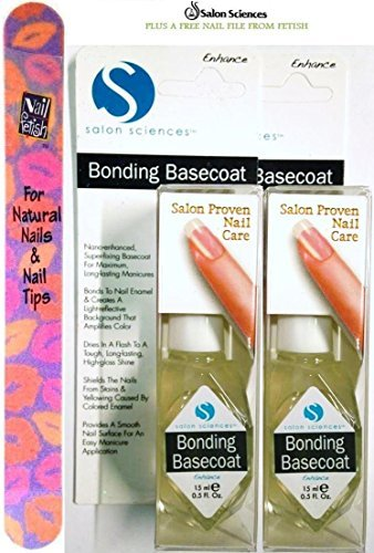 by-salon-sciences-bonding-basecoat-pack-of-2-plus-a-free-nail-file-from-fetish-for-natural-nails-and