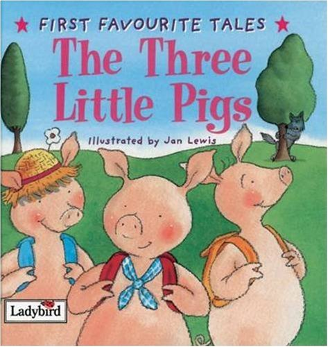 Image result for the three little pigs traditional story