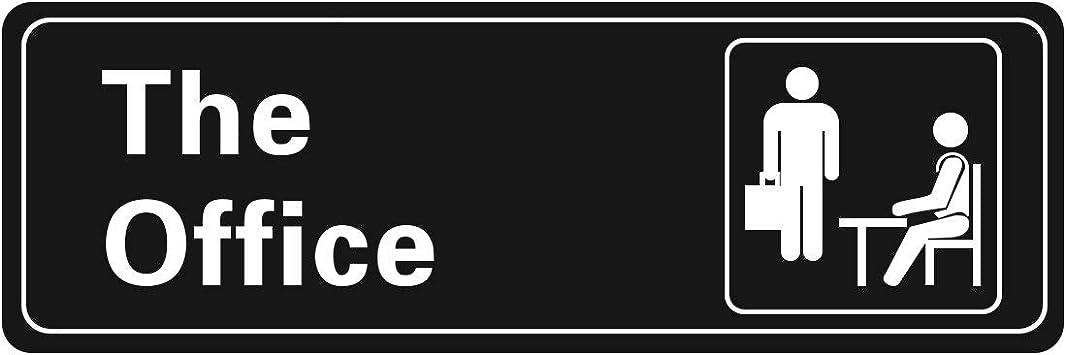 Home /& Business Shops Logo Signs Self Adhesive 20 cm x 6 cm Metal Door Sign