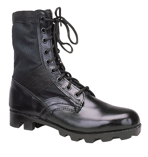 Rothco Black Jungle Steel Boot Toe 0qwx6ZX0