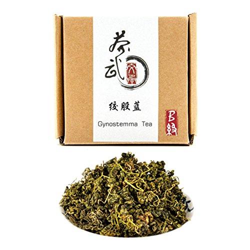 Cha Wu-Gynostemma Tea, 3.5oz/100g,JiaoGuLan Tea,100% Natural Organic Herbal,Health Tea ()