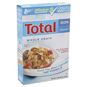 amazon com general mills total whole grain cereal 16 oz pack of 6