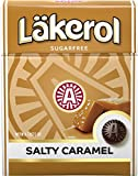 4 Boxes X 25g of Läkerol Salty Caramel Stevia Original Swedish Sugar Free Liquorice Pastilles Lozenges Drops Dragees Candy Sweets