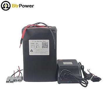 BtrPower 48V / 52V 30Ah batería de Ion de Litio para ...