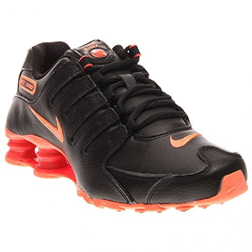 Nike WMNS NIKE SHOX NZ womens fashion-sneakers 636088-066_5 - Black/Bright Crimson/Bright Mango
