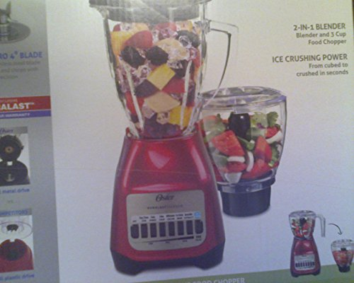 "OSTER 8 SPEED 6 CUP "" MAKE IT FAST "" 2 IN 1 BLENDER for sale  Delivered anywhere in USA"