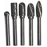 BURR SET 5PCS (1/4'' SHAFT)