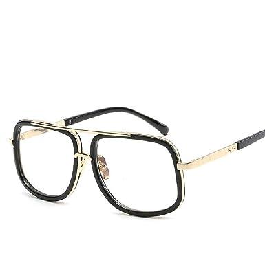 Cebbay-Gafas de Sol cuadradas para Hombre Marco Cuadrado Moda ...