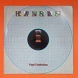 KANSAS Vinyl Confessions 1982 Kirshner FZ 38002 LP Vinyl VG+ Cover VG+ Sleeve