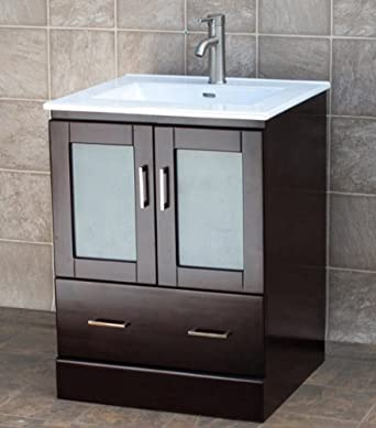 Unusual Kitchen Bath And Beyond Tampa Tiny Cleaning Bathroom With Bleach And Water Square Bathroom Faucets Lowes Bathroom Vanities Toronto Canada Old Bathroom Expo Nj BrightTiled Bathroom Shower Photos 24\u0026quot; Bathroom Vanity Cabinet Ceramic Top Sink MCT: Amazon.com ..
