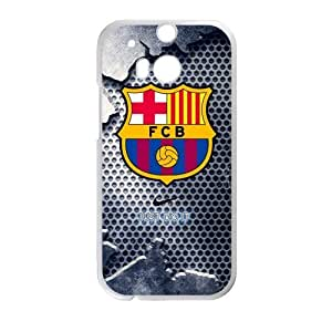 FC Barcelona Cool Design HTC One M8 Cell Phone Cases Cover Popular Gifts(Laster Technology)