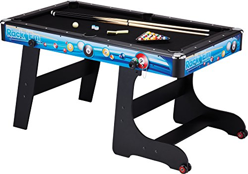 Fat Cat Stormstrike 5-Foot Space-Saving Folding Billiard/Pool Game Table Review