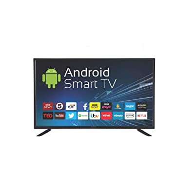 eAirtec 102 cm (40 inches) HD Ready Smart LED TV 40DJSM (Black) (2020 Model)