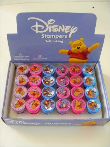 (Disney Winnie The Pooh Eeyore Tigger Stampers (24 pcs)