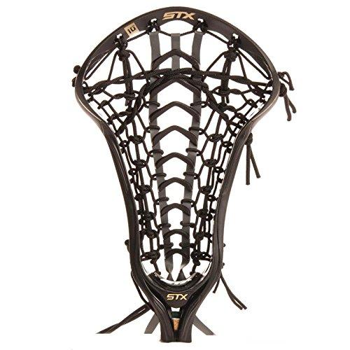 STX Lacrosse HD CR50 TL LA Crux 500 Strung Head, Teal/Black