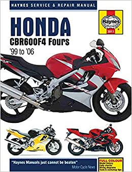 Honda CBR600F4 1999 - 2006 (Haynes Service & Repair Manual)