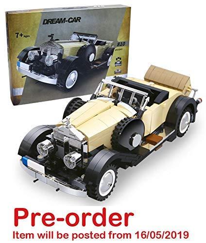 Ingenious Toys /® Modelo Creator Rolls-Royce Noble Coche Cl/ásico 810 Piezas Construcci/ón Juego #03xx7