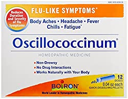 Boiron Oscillococcinum, For Flu-like Symptoms, 12 Count Box Of 0.04 Ounce Doses