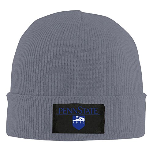 Winter Penn State University Asphalt Unisex Warm Beanie Hat For Men's (Penn State Engineering compare prices)
