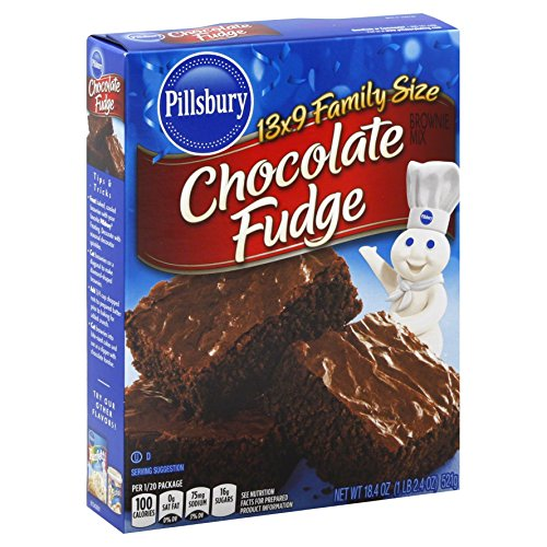 Pillsbury Brownie Rich Fudge, 18.4 oz