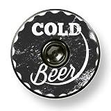 Cold Beer Designer Headset Stem Cap W/Bolt